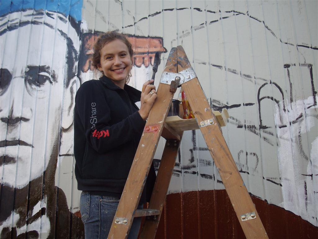 i Maria mural Fundacion