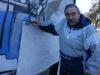 w Cesar Castro en el mural La Fabrica Bagliani