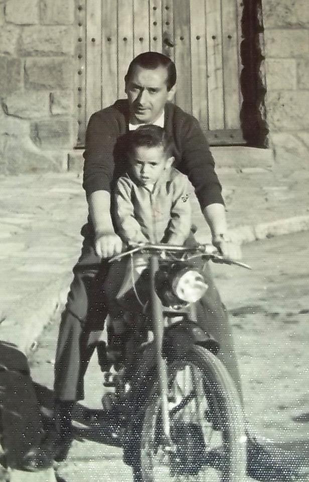 Dante y su papa (foto propiedad de Dante)
