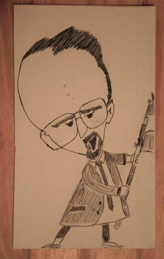 Dante caricaturizado