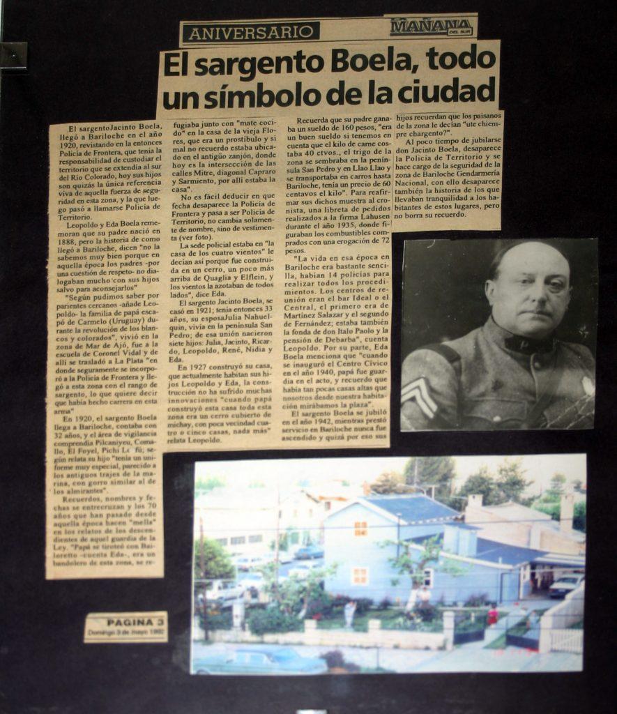 Cuadro en casa de Dante que recuerda a su abuelo Jacinto