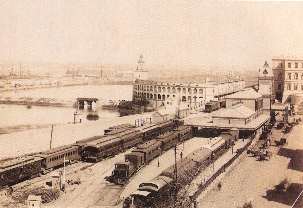 Estacion Central, Bs. As.  1887