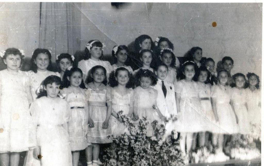 Concierto de Piano con la Profesora Bentata año 1947 en el Club Social de Allen