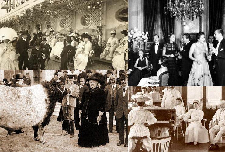 Jockey Club, sociedad Rural y mansiones: la oligarquía en acción