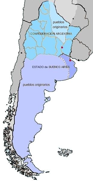Mapa_ARGENTINA_1858